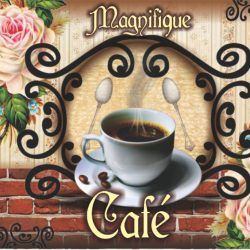 Papel Sumiu - Café Vintage