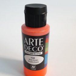 Tinta Acrílica Arte Deco Fluorescente 60 ML