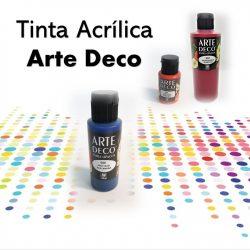 Tinta Acrílica, Arte Deco